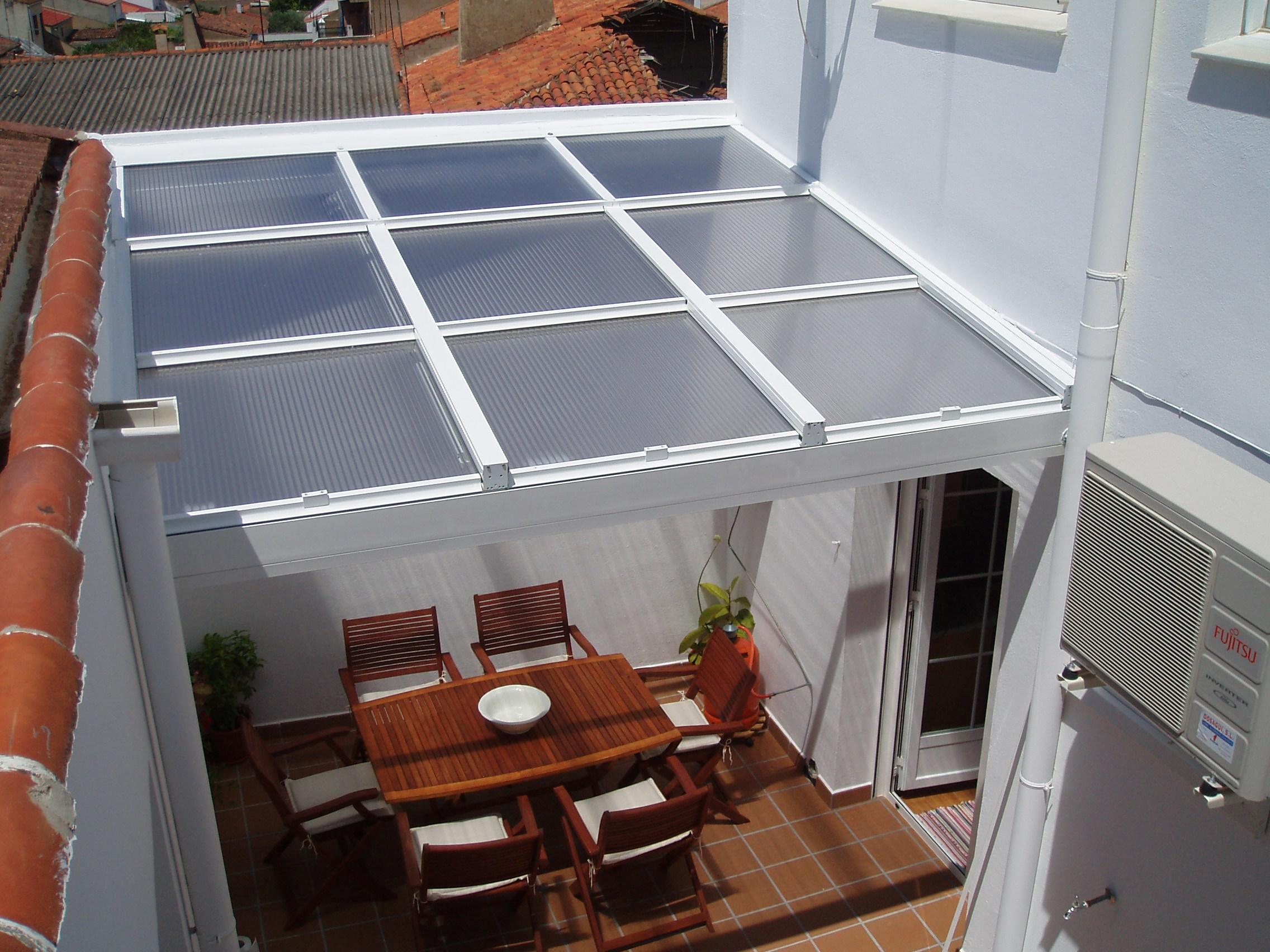 Aluminios lara - Techos corredizos para patios ...